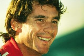 Senna smiling